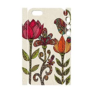 3D Doah in the Garden IPhone 5,5S Case, {White}