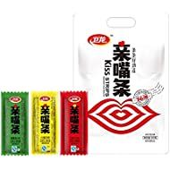Spicy Strip 亲嘴条卫龙辣条QinZuitiao Chinese Special Snack Food Wei Long Series Spicy Gluten 300g (300g)