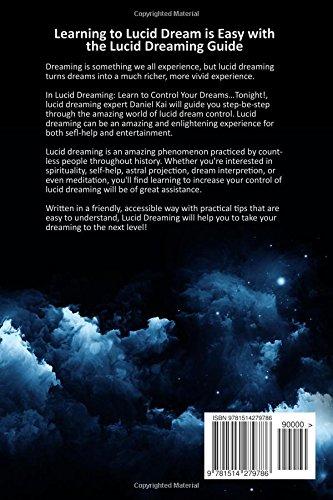 Best way to lucid dream tonight
