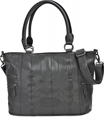 Fritzi Aus Preußen Womens Handbag Carlota Nappa Fango
