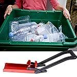 schiaccia-Bottiglie-plastica-Frantoio-per-lattine-in-Alluminio-frantoio-per-lattine-Montato-a-Parete-per-impieghi-gravosi-Riciclatore-per-Bottiglie-di-Soda-in-Alluminio-Rosso