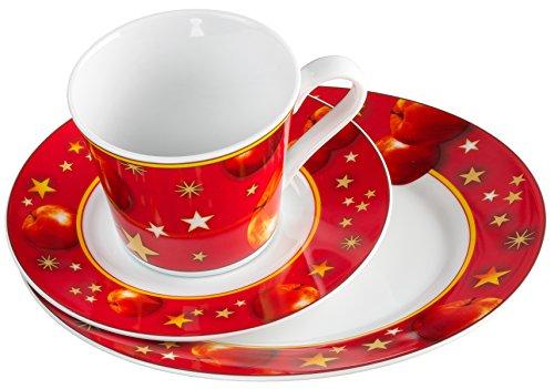 Ritzenhoff & Breker 551600 Kaffeeservice Winterapfel, 18-teilig