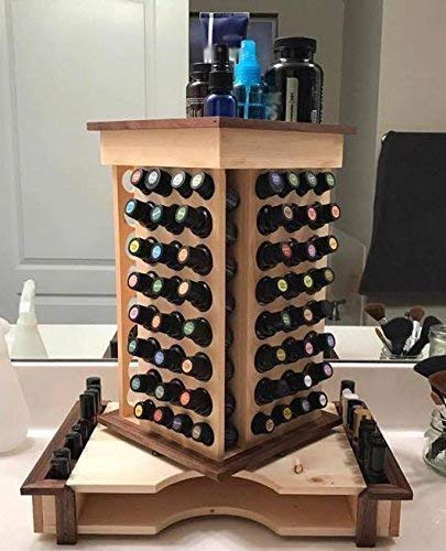 Large Essential Oil Rotating Organizing Rack