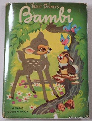 Walt Disney's Bambi (A Fuzzy Golden Book), Felix Salten