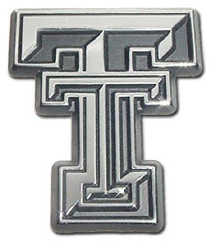 Texas Tech University Red Raiders Premium Chrome Plated Metal NCAA College Car Truck Motorcycle Emblem AMG