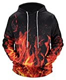 Best  - Pizoff Men Women All Over Funny colorful Fire Review