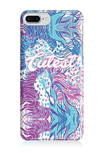 COVER Statement Spruch Quote cutest Wasserfarben Aquarell Pastell Design Handy Hülle Case 3D-Druck Top-Qualität kratzfest Apple iPhone 7 Plus