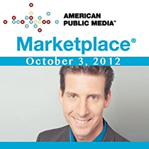 Marketplace, October 03, 2012