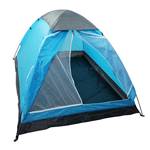 Yodo Upgraded Lightweight 2 Person Camping Backpacking Tent With Carry Bag, Carry Bag, Blue
