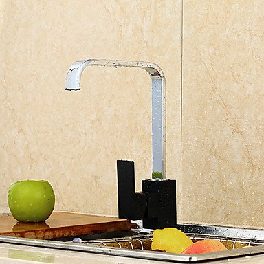 Y&M All Copper Kitchen Faucets Creative Single Cascade Mix Water Tap