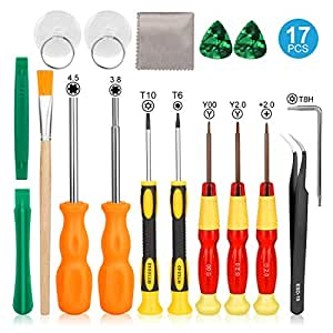 Nintendo Triwing Screwdriver, Keten Professional Nintendo Screwdriver Set With Full Triwing Screwdriver Repair Tool Kit For Nintendo New 3Ds And Nintendo Wii /Nes /Ds Lite /Gba/Gamecdsube And More