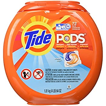 Amazon Com Tide Pods Ocean Mist Detergent 72 Count