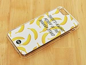 1888998130447 [Global Case] Comida Frutas Sandía Piña Plátano Kiwi Fresa Siempre hay dinero en el puesto de plátanos Amarillo Blanco Manzana Cerezas Limón Pomelo (NEGRO FUNDA) Carcasa Protectora Cover Case Absorción Dura Suave para Apple iPod 4
