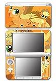 My Little Pony Friendship is Magic MLP Applejack Video Game Vinyl Decal Skin Sticker Cover for Original Nintendo 3DS XL System