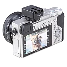 Neewer Black Flash Hot Shoe Converter Adapter Auto-lock Accessory Shoe Adapter That Features a Multi-interface Shoe,to Apply a Sony Version Flash ,such as HVL-F43AM,HVL-F58AM,HVL-F56AM for Sony Cameras Camcorders A7 A7R A7S A6000 NEX-6 A99 A58 RX1 RX1R RX10 RX100M2 VG900E VG30E CX900E AX100E AX1E PJ610E JP820E