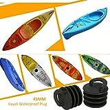 Echeer Kayak Scupper Plugs, 41MM Marine Propel Kayak...
