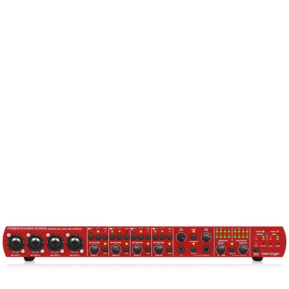 Behringer FIREPOWER FCA1616 Interfaz de audio firewire compatible con todos los softwares del mercado