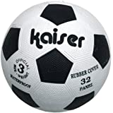 カイザー(kaiser) ゴム サッカー ボール  KW-201