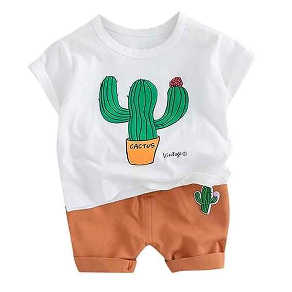HucodeVan Trajes Ropa para Bebé Niño Niñas pequeños Cactus ...