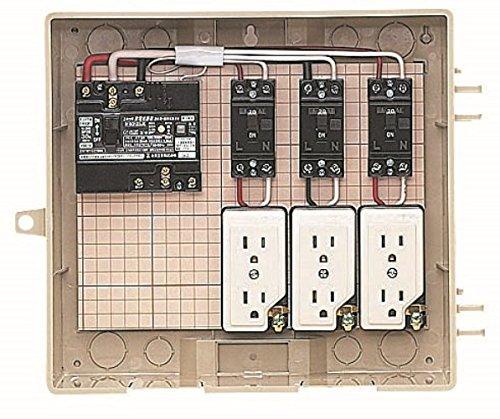 【70%OFF】 未来工業 17A-8C7 屋外電力用仮設ボックス 漏電しゃ断器分岐ブレーカコンセント内蔵 ELB組込品 未来工業 ELB組込品 17A-8C7 B01HRPMC0G 12-3C, バッグのロワール:20c8d13c --- a0267596.xsph.ru