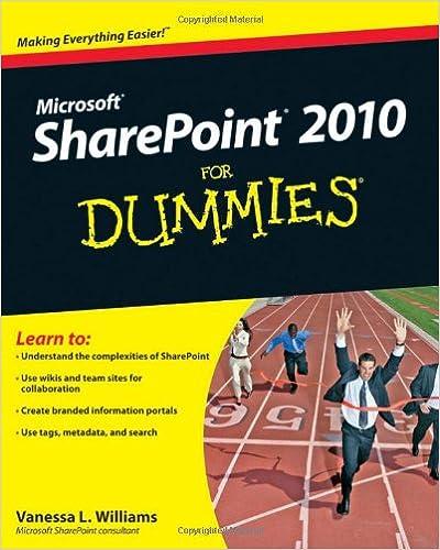 Vanessa L. Williams - Sharepoint 2010 For Dummies