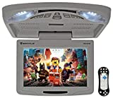 Rockville RVD12HD-GR 12' Grey Flip Down Car Monitor DVD/USB/SD Player + Games