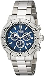Invicta Men's 10362 Specialty Chronograph Blue Dial Watch