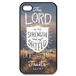 Christian bible verses quotes High Qulity Customized Cell Phone Case for iPhone 4,4S, Christian bible verses quotes iPhone 4,4S Cover Case