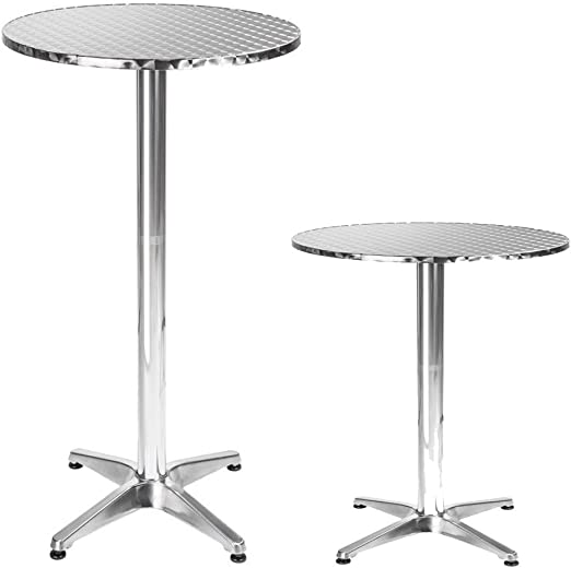 Mojawo Bistro Pliante Mange-Debout Aluminium Bistro Table ...