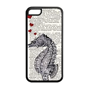 Custom Seahorse Rubber TPU Case For Apple IPhone 5C
