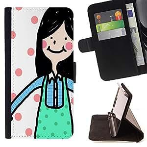 Jordan Colourful Shop - FOR Samsung Galaxy A3 - ?see a person smiling - Leather Case Absorci¨®n cubierta de la caja de alto impacto