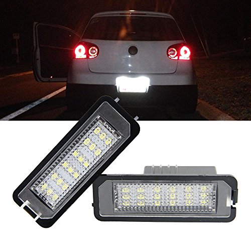 Mk5 Golf Led Number Plate Lights in US - 3