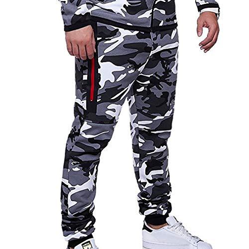 Juleya Mimetici Chiaro Uomo Pantaloni Casual Da Ginnastica Camo Grigio Sportivi New Palestra Abbigliauomoto Fitness Sportivo 6E06xwqr5