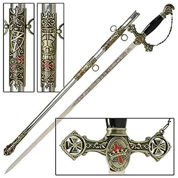 Knights of St  John Crusader Masonic Sword