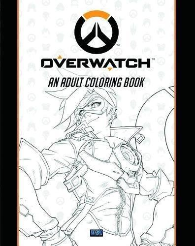 Amazon Overwatch Coloring Book 9781945683060 Blizzard Entertainment Books