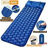 Sleeping Pad Ultralight Camping Mat 6.58Ft Air Sleeping Mat Portable Comfortable Inflatable Outdoor Foldable Backpack Sleeping Bag Pad Mattress and Camping Pillow with Wristbands for Camping Innovation Separates