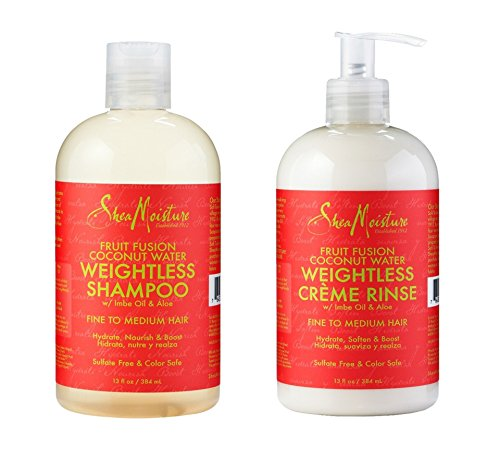 Shea Moisture Fruit Infused Coconut Water Weightless Shampoo