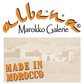 albena Marokko Galerie 29-105 Sella moroccan shopping basket palm leaves L40cm//H28cm//B15cm natural