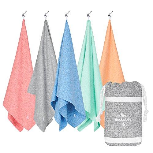 Microfiber Towel - Gym & Fitness (Grey - Small 40x20