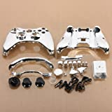 SODIAL(R) Silver Chrome Full Housing Shell Case Cover for Xbox 360 Wireless Controller (silver)