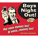 Sellers Publishing 2018 Boys' Night Out Boxed/Daily Calendar (CB0237)