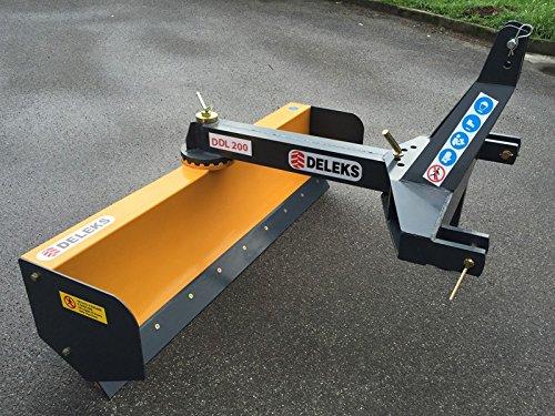 Planierschild, Räumschild 360°+90° drehbar für Traktoren von 40 bis 80 Ps - DDL-200