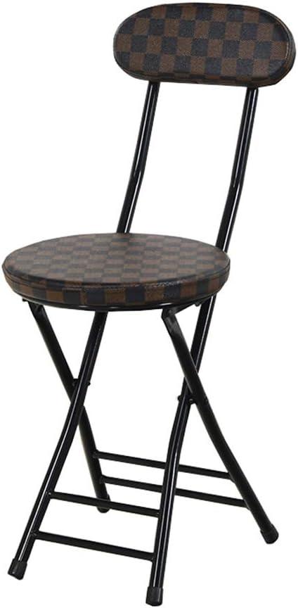 Silla plegable, silla de camping portátil, sillas pequeñas, silla plegable de niños, sillas de metal plegables, humanizado esquinas redondeadas for evitar lesiones Diseño Bump, estable y duradera - 2: Amazon.es: Hogar