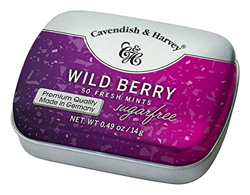 Cavendish & Harvey Wild Berry Sugar Free 50 Mints, 14g (B07DDJXXR5) Amazon Price History, Amazon Price Tracker