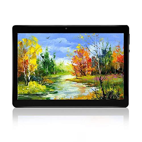 HXY 10.1 Inch Android 7.0 Tablet PC, 4GB RAM 64GB Storage,Dual Camera Sim Card Slots, Bluetooth 4.0,WiFi, GPS,1280x800 HD IPS Screen