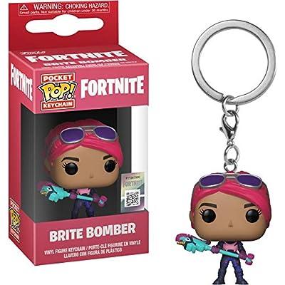 Funko 36969 Pop! Keychain: FortniteBrite Bomber, Multicolor: Toys & Games