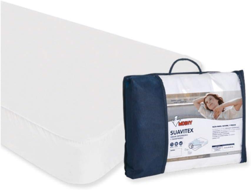 Moshy Protector de colchón Suavitex para Cama de 90x200