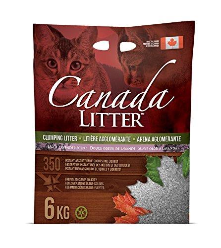 Canada Litter Litière agglomérante pour Chat Canada Litter Inc. 12 KG Lavender Scent