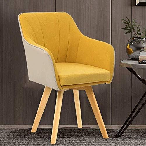 ホームオフィスチェア革布コンピューター椅子家の小さなアパート寝室の机の椅子現代のミニマリストの交渉椅子バルコニーレジャーオフィスチェアスカイブルーの回転送信枕qqq(Color:7)