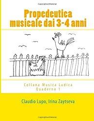 Propedeutica musicale dai 3-4 anni (Musica Ludica)